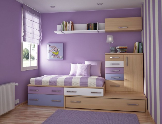 The stepped bedroom storage solution. 3 storage solutions for small spaces   Arley Cabinets   Wigan