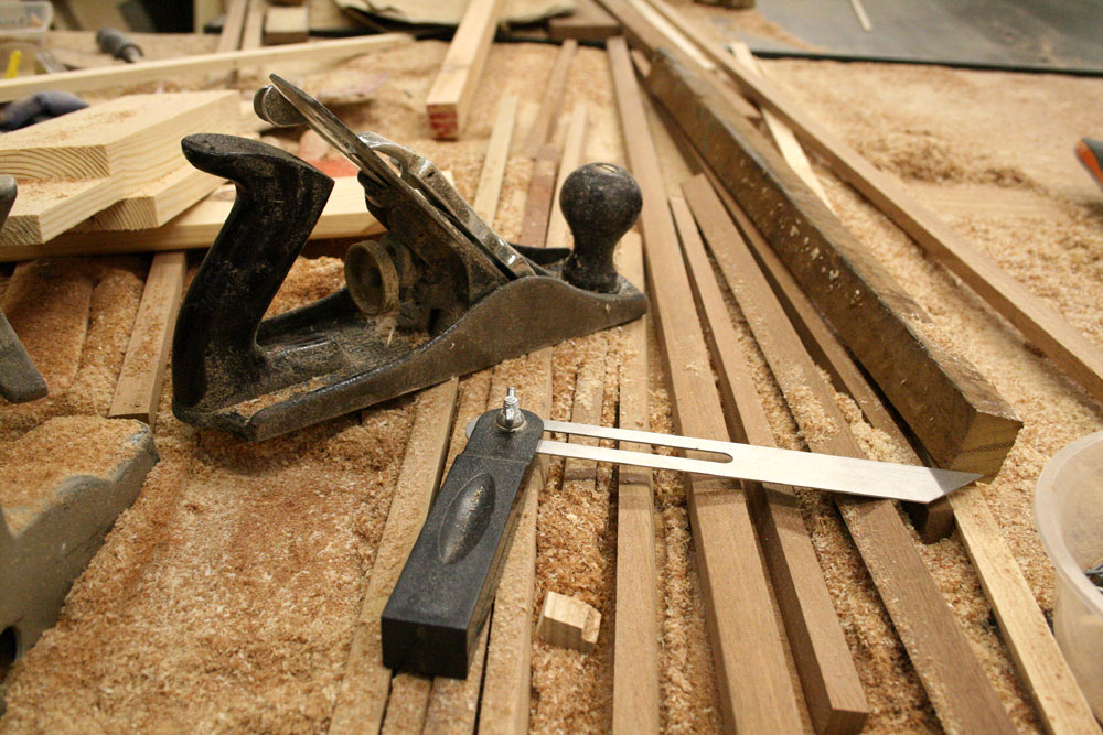 Woodwork tools for Made to measure cabinets